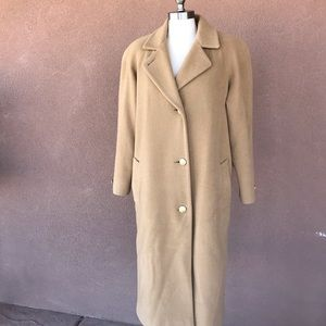 Vintage Talbots 100% wool trench coat